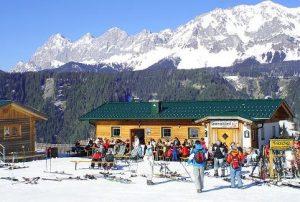 sonnenstüberl rohrmoos schladming skiurlaub skihütte